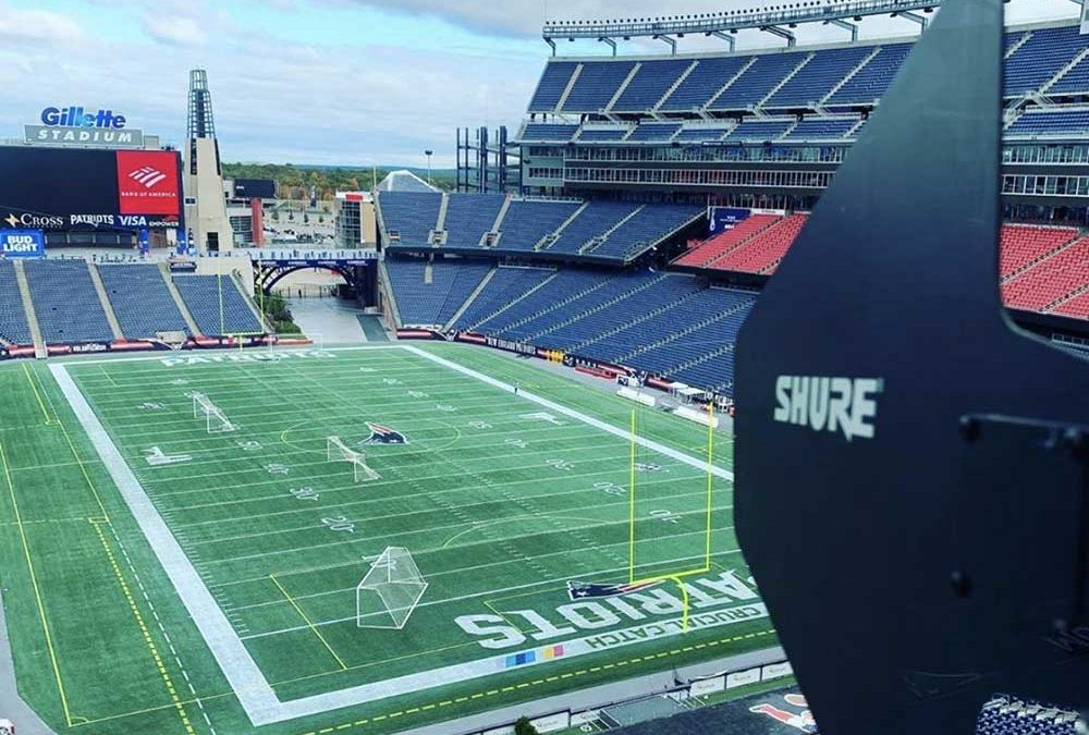 BAS ensures that your wireless communications system is at its optimum capacity. Contact us today to learn how BAS and Shure helped Gillette Stadium with their audio and wireless needs.