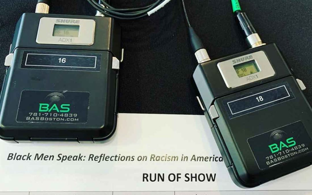 BAS is honored to have been a part of Black Men Speak: Reflections on Racism in America