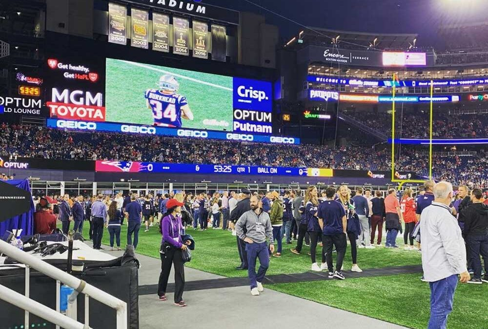 Hard to believe football season is right around the corner! BAS is honored to have assisted with the Patriot's audio needs for Gillette Stadium