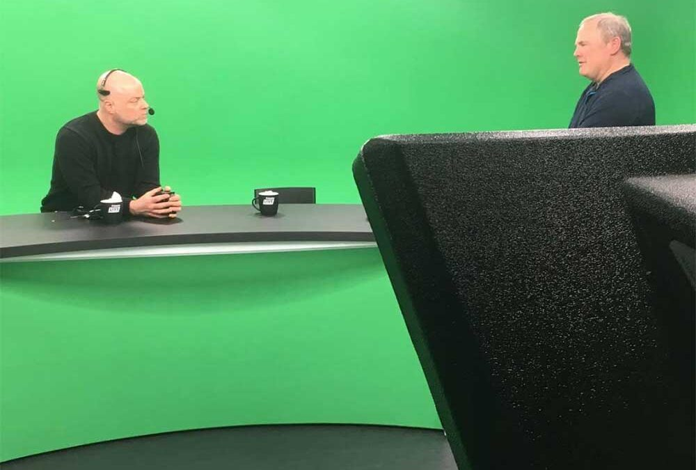 Throwback to a green screen, corporate broadcast job – Are you ready to explore audio services for your company? Call BAS today! 781-710-4839