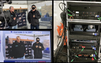 BAS was proud to be a part of 2021 NFL Draft at Patriot's Stadium!