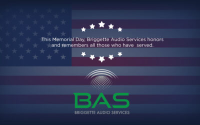 Wishing our colleagues, friends and families a safe and memorable Memorial Day from Briggette Audio Services